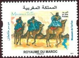 MOROCCO FESTIVAL MOUSSEM ALMOUGAR TANTAN SAHARA DROMADAIRES TOUAREG 2017 - Morocco (1956-...)