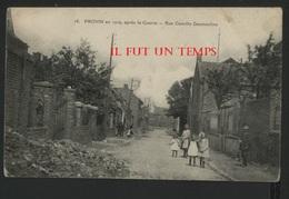 59 PROVIN En 1919 Après La Guerre - Rue Camille DESMOULINS - Autres Communes