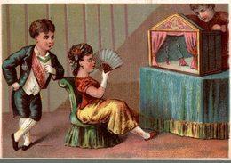 CHROMO KRISTAAL PORCELEIN GLAS EN AARDEWERK ANTWERPEN  LE THEATRE DE MARIONNETTES - Trade Cards