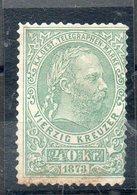 1873  N°4 SANS GOMME COTE 225 EUROS DEPART 30 EUROS - Télégraphe