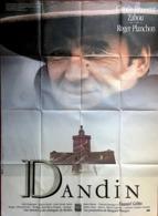 Aff Ciné Orig DANDIN (1988)120x160cm Roger Planchon Molière Claude Brasseur - Affiches & Posters