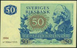 SWEDEN - SWEDEN - 50 Kronor 1984 {Sveriges Riksbank} AU-UNC P.53 D - Sweden