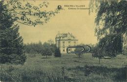 Braine- L'Alleud :  Chateau St Sébastien (  Ecrit 1928 Avec Timbre ) - Eigenbrakel