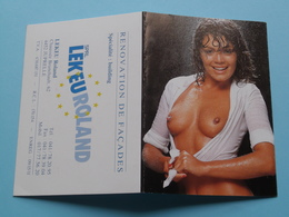 LEKEUROLAND 4452 Juprelle () 1993 (Femme Nude / Naakt / Naked) ( Zie/voir Photo Svp ) ! - Calendriers
