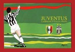 Italia - FOLDER BOLAFFI - JUVENTUS CAMPIONE D'ITALIA 1994/95. - 6. 1946-.. Repubblica
