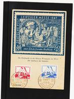 BOX763 DDR 1951 MICHL 282/83 Mit ERSTTAGSSTEMPEL SIEHE ABBILDUNG - [6] République Démocratique