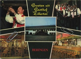 Beringen :  Groeten Uit Gasthof ZILLERTAL     (  Format 15 X 10.5 Cm ) - Beringen