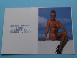 Jeurissen Sylvianne L'Hebdo Grivegnée () 1996 (Femme Nude / Naakt / Naked) ( Zie/voir Photo Svp ) ! - Calendriers