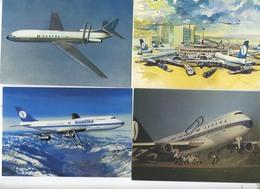 5 X   SABENA       (  Format 15 X 10.5 Cm ) - Aviation
