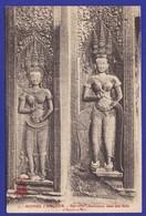 Angkor BAS RELIEF ( Très Très Bon état ) é828 - Cambodge