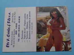 Ets V. CRICKX & Fils Liège 1984 (Femme Nude / Naakt / Naked) ( Zie/voir Photo Svp ) ! - Petit Format : 1981-90
