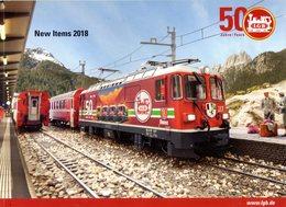 Catalogue LGB L.G.B. New Items 2018 50° LGB Englisch Ausgabe - Livres Et Magazines