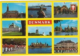 Denmark / Dänemark / Le Danemark / La Danimarca / Dinamarca - 'Fly SAS' Postcard - Multiview - (Danmark) - Denemarken