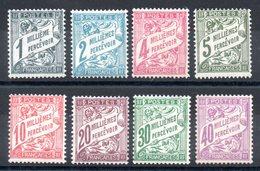 ALEXANDRIE - YT Taxe N° 6 à 13 - Neufs * - MH - Cote: 26,00 € - Alexandria (1899-1931)