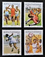 SPORTIFS EN ACTION 1987 - NEUFS ** - YT 181/84 - Bophuthatswana