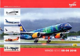 Catalogue HERPA WINGS News 2016 05-06 - Avions & Hélicoptères