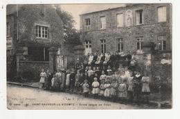 SAINT SAUVEUR LE VICOMTE - ECOLE LAIQUE DE FILLES - 50 - Saint Sauveur Le Vicomte