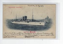 DEP. 33 MESSAGERIES MARITIMES PAQUEBOT ANNAM Précurseur - Steamers