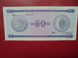 """CUBA 50 PESOS SERIE """"C"""" PEU CIRCULER/NEUF - Cuba"""