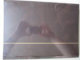 Ney002 NIEUW A4 LEUCHTTURM ALBUM KLEUR DONKER BRUIN / DARK BROWN MET 64 WITTE BLADEN / 64 WHITE PAGES - Sin Clasificación