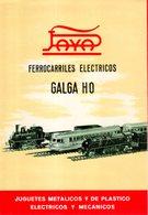 Catalogue PAYA Ferrocarriles Electricos Galga HO 16/mm Novedades En 1958 - En Espagnol - Livres Et Magazines