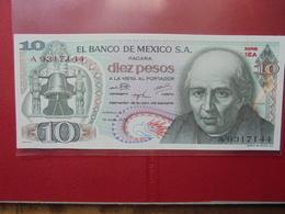 MEXIQUE 10 PESOS 1975 PEU CIRCULER/NEUF - Mexiko