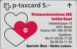 SUISSE - PHONE CARD - TAXCARD-PRIVÉE * FF *** SRK - BASEL *** - Switzerland