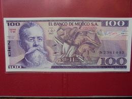 MEXIQUE 100 PESOS 1981 PEU CIRCULER/NEUF - México