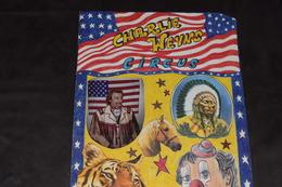 Charlie Weyns Circus 1993 Laeken 52 X 29.5 Cm USA Indien Tigre - Posters