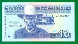 Namibia 10 Namibia Dollars (1993) P1 UNC - Namibia