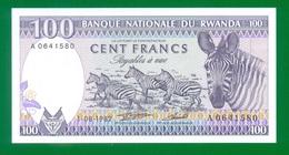 Rwanda 100 Francs 1982 P18 UNC - Ruanda