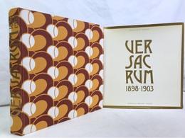 Ver Sacrum 1898 - 1903. - Bücher, Zeitschriften, Comics