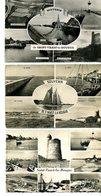 50  Lot De 3 CPSM Petit Format De SAINT-VAAST-LA-HOUGUE     Multivues   Très Bon état  Port: 1€ - Saint Vaast La Hougue
