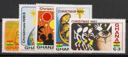 Ghana - 1983 - N°Yv. 791 à 795 - Noel - Neuf Luxe ** / MNH / Postfrisch - Ghana (1957-...)
