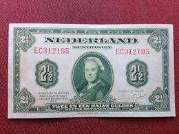 PAYS BAS Superbe Billet De 2 1/2 Gulden 1943 Jamais Circulé - [2] 1815-… : Royaume Des Pays-Bas