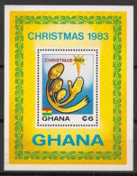 Ghana - 1983 - Bloc Feuillet BF N°Yv. 100 - Noel - Neuf Luxe ** / MNH / Postfrisch - Ghana (1957-...)