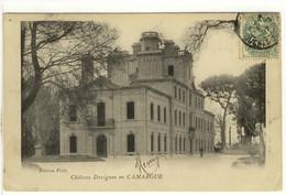 Carte Postale Ancienne Arles - Château Davignon En Camargue - Arles