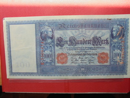 Reichsbanknote :100 MARK 1910 (CACHET ROUGE) - [ 2] 1871-1918 : German Empire