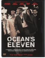 """DVD Film """"ocean's Eleven"""" CLOONEY/DAMON/GARCIA/PITT/ROBERTS - Crime"""