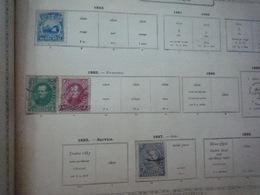 COLLECTION COSTA-RICA - VENEZUELA - COLOMBIE - PANAMA - EQUATEUR  Feuille Album Maury Ancien - A Voir - 27 Scans - Verzamelingen (in Albums)