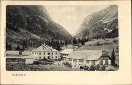 Cp Plöcken In Kärnten, Ortschaft Mit Landschaftsblick - Autres