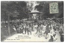 Rethel Les Isles Un Jour De Ste-Anne A. Wilmet, Phot.-édit., Rethel - Rethel