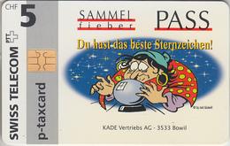 SUISSE - PHONE CARD - TAXCARD-PRIVÉE - CHIP *** SAMMEL - PASS *** - Switzerland