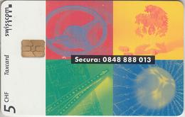 SUISSE - PHONE CARD - TAXCARD-PRIVÉE - CHIP *** ASSURANCES & SECURA *** - Switzerland