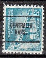 USA Precancel Vorausentwertung Preo, Locals Kansas, Centralia 704 - Vereinigte Staaten