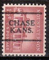 USA Precancel Vorausentwertung Preo, Locals Kansas, Chase 701 - Vereinigte Staaten