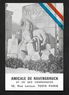 Amicale De Ravensbrück Et De Ses Commandos - Carte De Membre Années 80 - Guerre Déportation WW2 - 1939-45