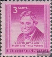 Stati Uniti 588 (completa Edizione) MNH 1948 Vuole Rogers - Vereinigte Staaten