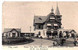 ± 1906 Paleis Van Den Toengkoe Besar (Crown Price) Of Deli, Est Coast Of Java (small Corner Fault) (18-41) - Indonesia