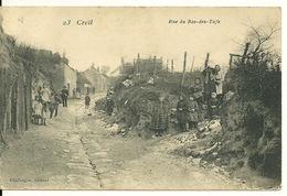 60 - CREIL / RUE DU BAS DES TUFS - Creil